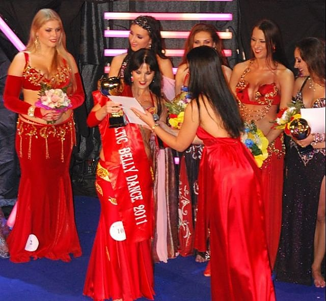 """Miss Baltic Belly Dance-2011"" apdovanojimų ceremonija."