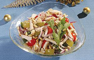 Prabangios vištienos salotos