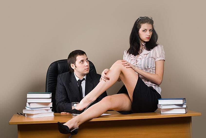 Секс с коллегой по работе по русски #10