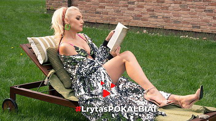#LrytasPOKALBIAI: I. Stonkuvienė pristato naują ir vasarišką savo dainą