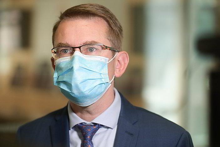 Gyvai: A. Dulkys apie planuojamą ligoninių pertvarkymą Klaipėdoje