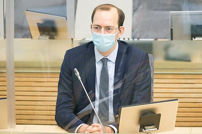 Gyvai: Prezidentūros komentarai po susitikimo su M. Skuodžiu